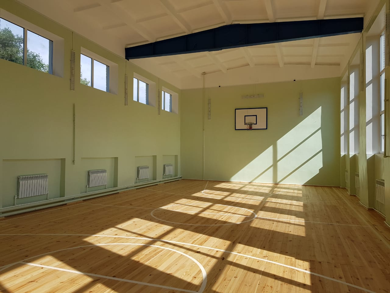 фото в спортзале школы фуру